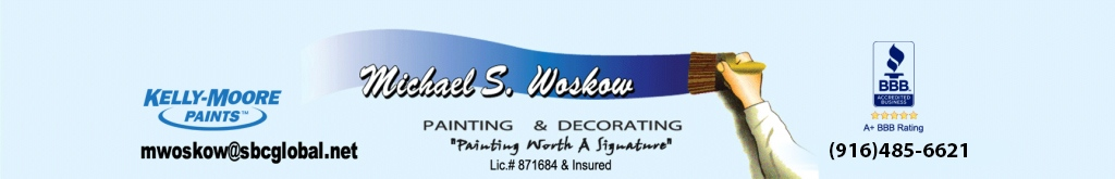 Michael Woskow Painting Logo